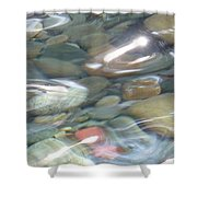 Sparkling Water On Rocky Creek 2 Shower Curtain