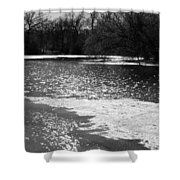 Sparkling Waters Shower Curtain