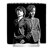 Sparks Collection - 1 Shower Curtain