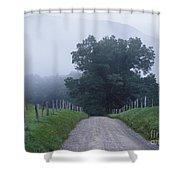 Sparks Lane - Fm000117 Shower Curtain