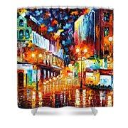 Sparks Of Freedom Shower Curtain