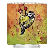 Sparrow - Bird Shower Curtain