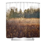 Sparrows Carry Her Name Shower Curtain