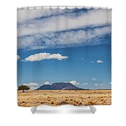Sparse Shower Curtain by Rick Furmanek