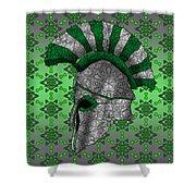 Spartan Helmet Shower Curtain