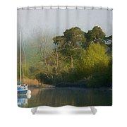 Spartan The Yacht Shower Curtain