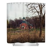 Spaulding Church Shower Curtain