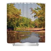 Spavinaw Creek Shower Curtain