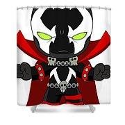 Spawn Supervillain Shower Curtain