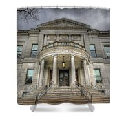 Speaker Matthew J. Ryan Building Shower Curtain