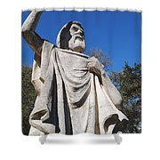 Speaking To God Shower Curtain