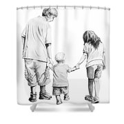 Special Children Shower Curtain