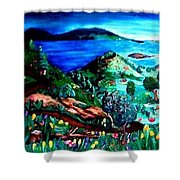 Special Land  Shower Curtain