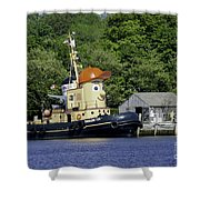 Special Seaport Visitor Shower Curtain