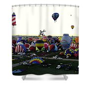 Special Shapes Shower Curtain