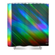 Spectral Curtain Shower Curtain