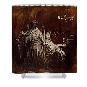 Spectrum Appearance Of Banquo Shower Curtain