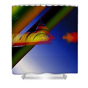 Spectrum Of Roses Shower Curtain