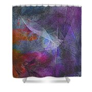 Spectrum Twist Shower Curtain
