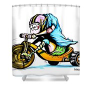 Speed Racer Shower Curtain
