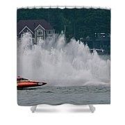 Speedboat Trials 1961 Shower Curtain