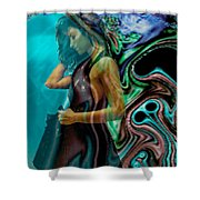 Spell Of A Woman Shower Curtain