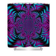 Spellbound - Abstract Art Shower Curtain