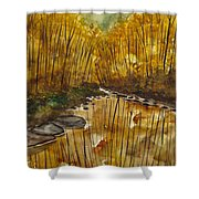 Spending Time Shower Curtain