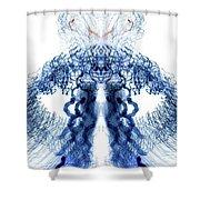 Spermatosaurus Shower Curtain