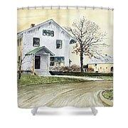 Sperry Homestead Shower Curtain
