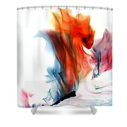 Spessartite Dragon Shower Curtain