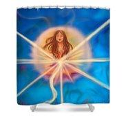 Sphere Of Llight  Shower Curtain