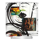 Sphere Painting Series 72.041811 Shower Curtain