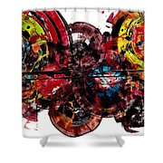 Spherical Joy Series 61.100211 Shower Curtain