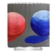 Spherical Shower Curtain