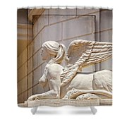 Sphinx Beauty Shower Curtain