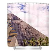 Sphinx Clouds Shower Curtain