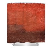Spice- Abstract Art By Linda Woods Shower Curtain