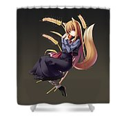 Spice And Wolf Shower Curtain