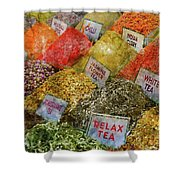 Spice Market In Istanbul Shower Curtain