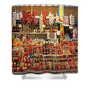 Spice Stall Shower Curtain