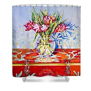 Spice Trade Shower Curtain