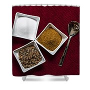 Spices  6070 Shower Curtain