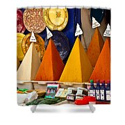 spices of Morocco Shower Curtain