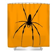 Spider Card Shower Curtain