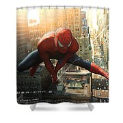 Spider-man 2 Shower Curtain