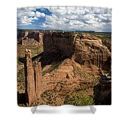 Spider Rock Canyon De Chelly Shower Curtain