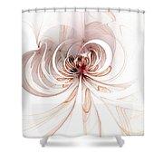 Spiderlily Shower Curtain