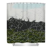 Spiderweb Shower Curtain