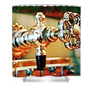Spigot Shower Curtain